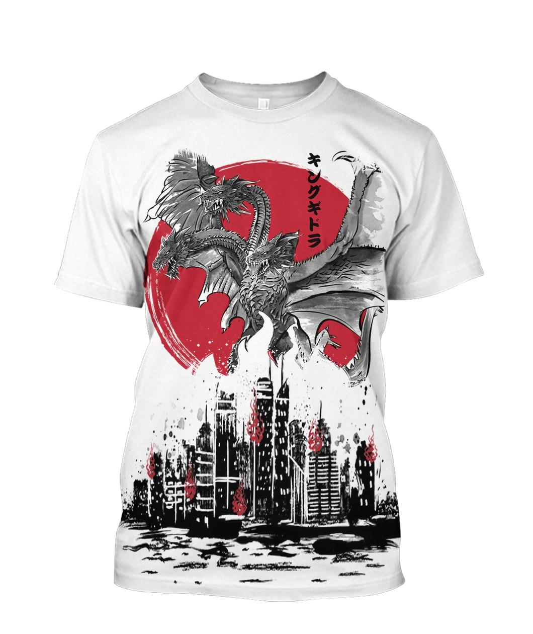 (3D) Godzilla 3