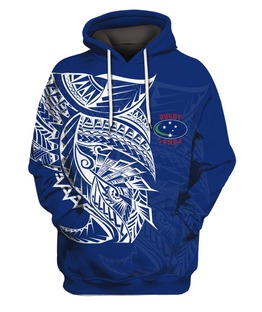Samoa Rugby 3D All Over Print | Hoodie | Unisex | Full Size | Adult | Colorful | HT2162