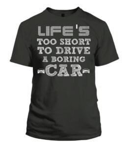 Car Fanatic Muscle Car Automobile t shirt