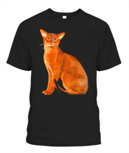 Abyssinian Cat Shirt - Abyssinian Cat Bo