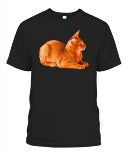 Abyssinian Cat T shirt - Abyssinian Cat