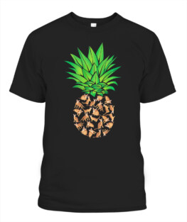 Abyssinian Cat Pineapple Cat Owner T-S