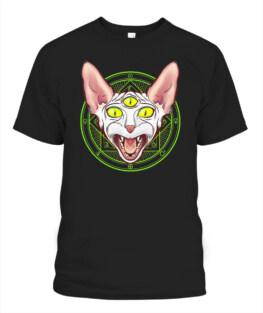 3-eyed Planetary Sphynx Cat Breed Shirt