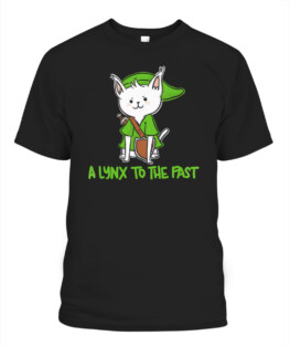 A Lynx to the Past Vintage Gamer T-Shirt