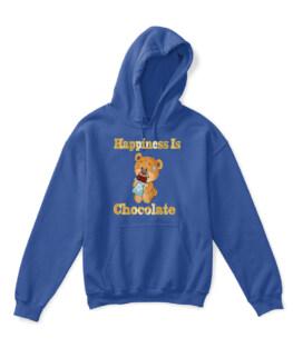 Happiness Is Chocolate Baby Bear Teddy Bear