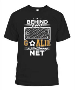 Goalkeeper Goalie Empty Net Soccer Ball Funny