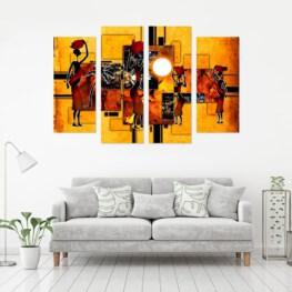 African Canvas Art - African Wall Art