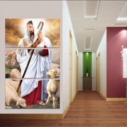 Jesus Wall Art - Jesus Canvas Wall Art