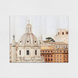 Rome Wood Wall Art - Rome Wood Canvas
