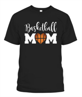 Funny Basketball Mom Shirts For Women Love Bball Mother graphic tee shirt gifts
