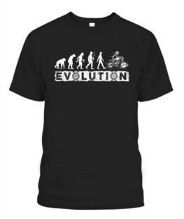 Motorbike Evolution funny motorbike riding bikers graphic tee gifts