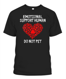 Emotional Support Human Do Not Pet