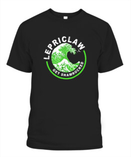 Lepriclaw Get Shamrocked Drinking St Patricks Day Gifts Adult T Shirts Gifts Full Size