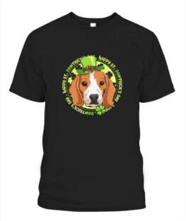 Happy St Pawtricks Day St Patricks Day Dog Lover Adult T-Shirt Full Size
