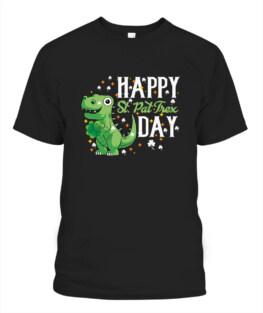 Irish Trex Dino St Patricks Day TShirt Hoodie Sweatshirt