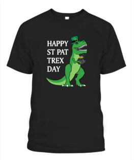 T-Rex Leprechaun Funny St Patricks Day Happy St Pat Trex TShirt Hoodie Sweatshirt