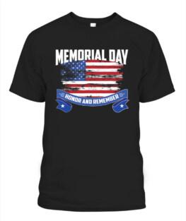 Memorial Day Veteran Memorial's Day TShirt Hoodie Adult S-5XL