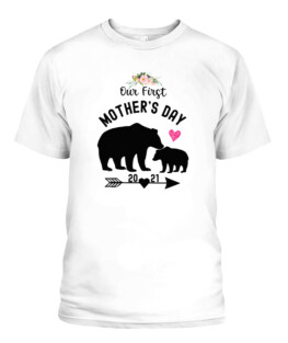Our First Mothers Day Outfit For Mom And Baby Mothers Day TShirt Gifts for Mom Full Size S-5XL