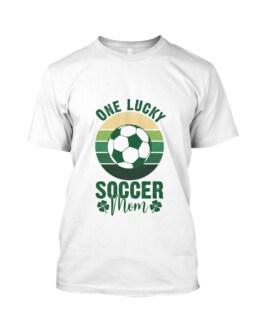 RD One lucky soccer mom shirt