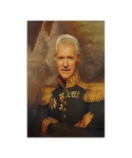 "Military Portrait Art Print Wall Poster Vertical 7x11"" 16x24"" 24x36"""