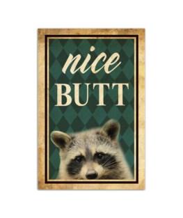 """Nice butt Wall Poster Vertical 7x11"""" 16x24"""" 24x36"""""""