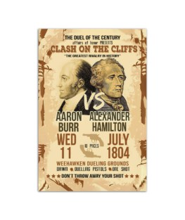 """The duel of the Century Wall Poster Vertical 7x11"""" 16x24"""" 24x36"""""""