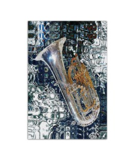 """Tuba Painting Wall Poster Vertical 7x11"""" 16x24"""" 24x36"""""""
