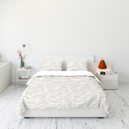 Animal fur print bedding set 6