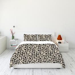 Animal fur print bedding set 2