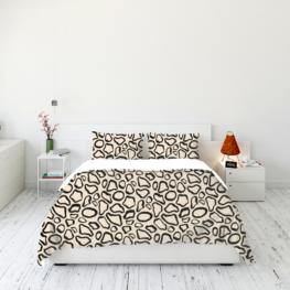 Animal fur print bedding set 3