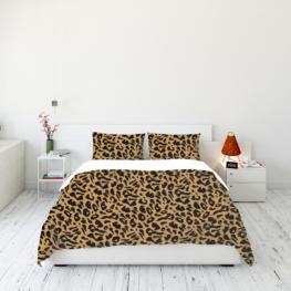 Animal fur print bedding set 4