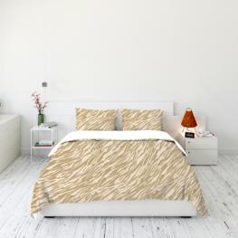 Animal fur print bedding set 7