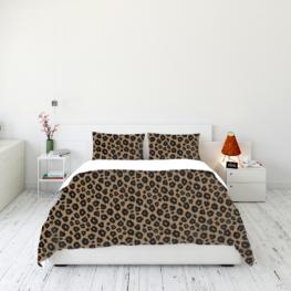 Animal fur print bedding set 8