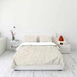 Animal fur print bedding set 9