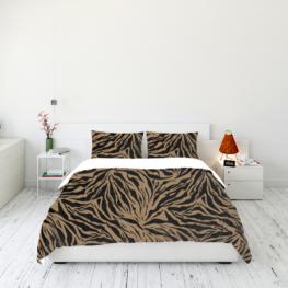 Animal fur print bedding set 10