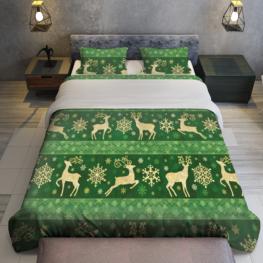 Christmas green pattern