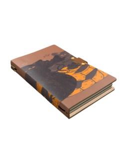 Halloween Cat Leather Journal
