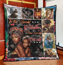 You are the world to your family - VU01074