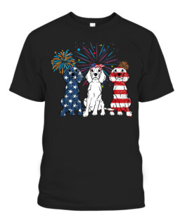 Beagle American Flag 4th Of July Independence Day