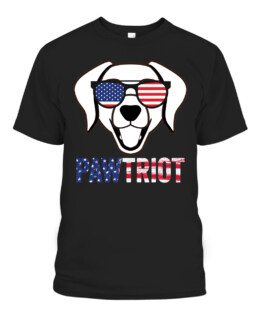 Happy 4th of July Beagle Pawtriot american flag