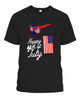 4th of July Independence Day American Flag Beagle