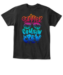 Summer Cousin Crew Shirt - Hello Summer Clothing - Family Meeting T-Shirt - Beach Vacation Outfit - Family Trip Apparel - Cousin Squad Gift