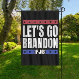 Let's Go Brandon Garden Flag Vertical Double Sided Polyester Home Garden Flag