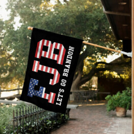 Flag For Room Funny - Let's Go Brandon Fjb Flags