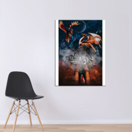 Canvas Fantastic Beasts and where find them
