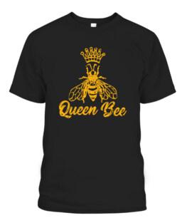 Queen Bee Halloween Costumer Girls Honey Crown Hero T-Shirts, Hoodie, Sweatshirt, Adult Size S-5XL