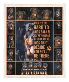 Rottweiler 60x80 Inch Adult Blanket