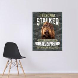 Personal Stalker Canvas Cotton 1 Piece - Portrait Full Size