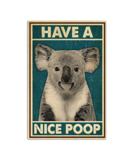 """Have a nice poop Wall Poster Vertical 7x11"""" 16x24"""" 24x36"""""""