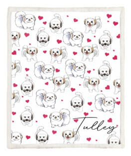 Small Dog 60x80 Inch Adult Blanket